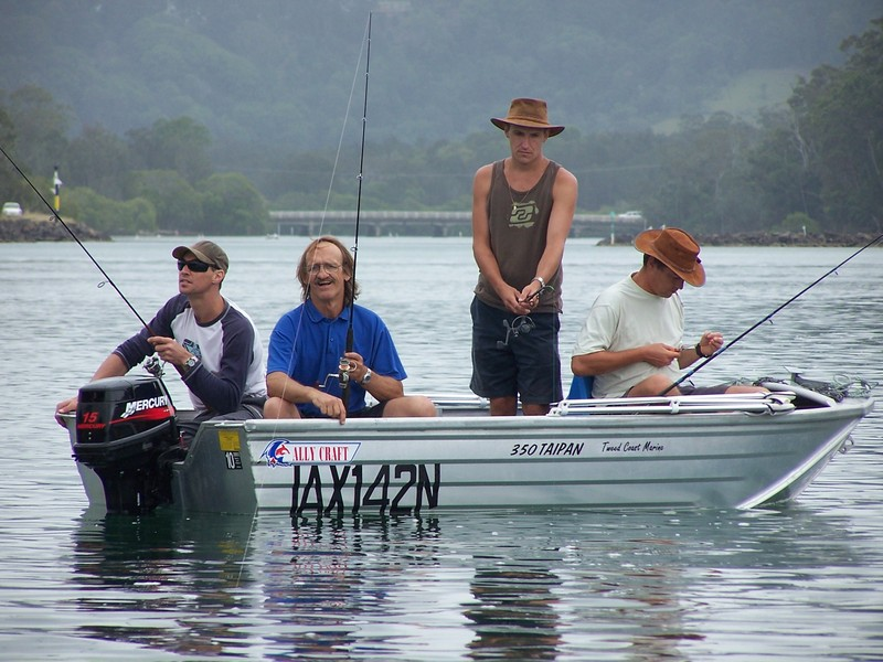 Fishing In Brunswick Heads -