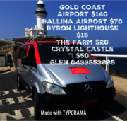 Taxis, car rental and charters